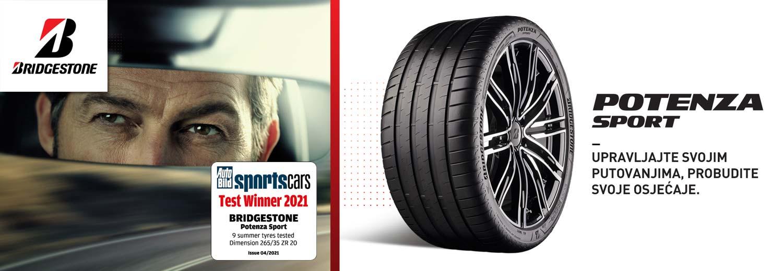 Bridgestone Potenza Sport - upravljajte svojim putovanjima, probudite svoje osjećaje