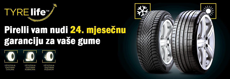 Pirelli garancija za vaše gume