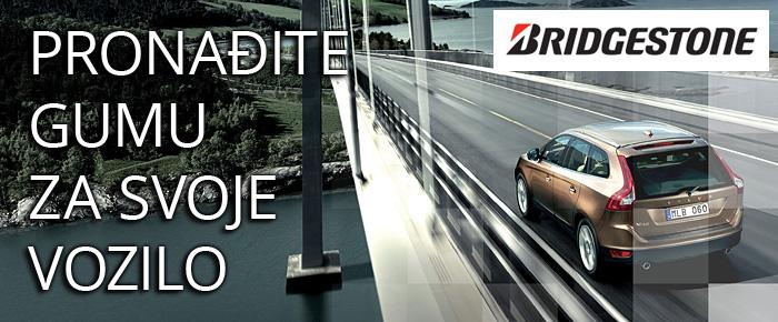 Pronađite Bridgestone gumu za vaše vozilo