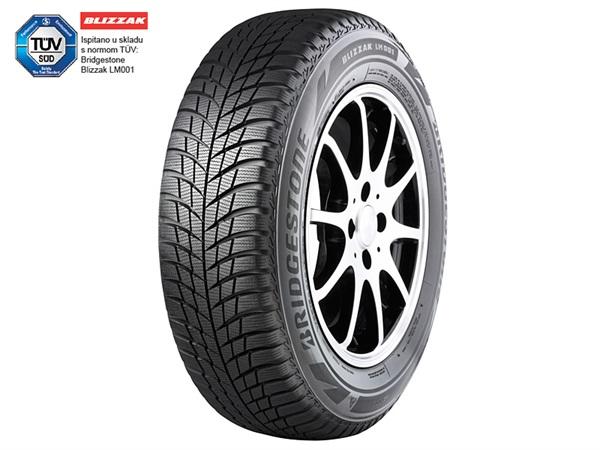 Izvrsno upravljanje u svim zimskim uvjetima za Bridgestone Blizzak LM001