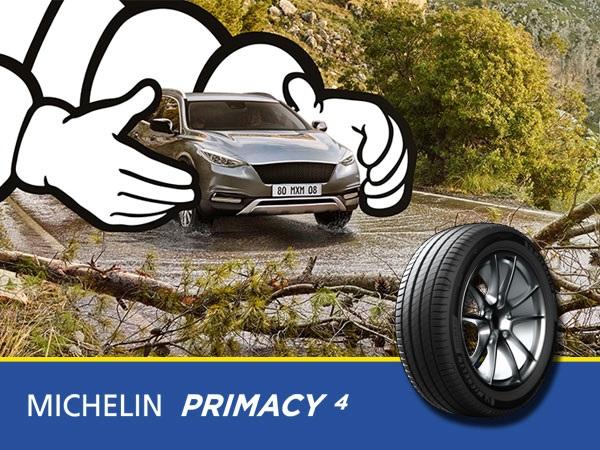 MICHELIN Primacy 4 - siguran kada je nov, siguran kada je korišten