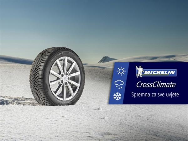 Novi MICHELIN CrossClimate pneumatik