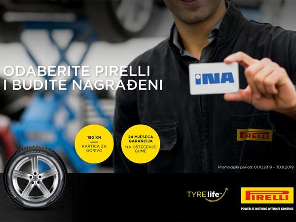 Odaberite Pirelli i budite nagrađeni