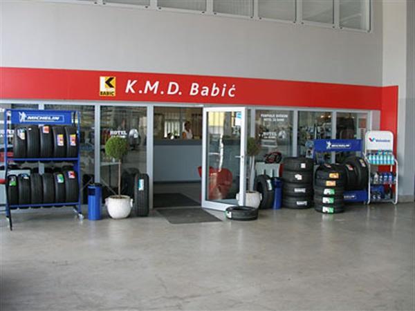 Ponuda u prodajno servisnom gumi centru KMD Babić